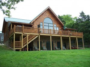 country log home
