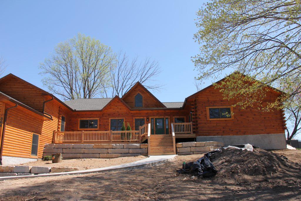 Kansas City Log Lake House