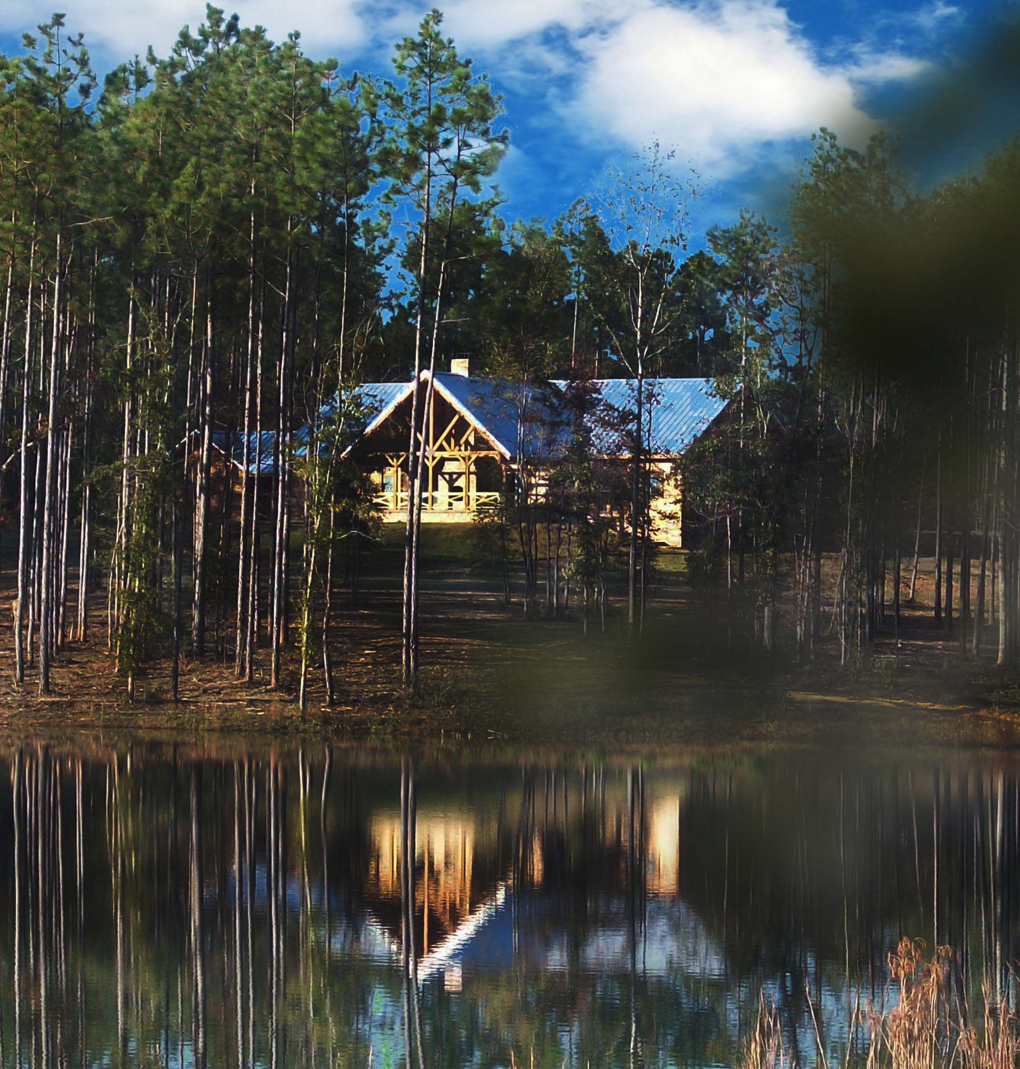 Mississippi Log Home Owner Log Home Construction